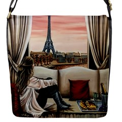 Parisian Dreams  Flap Closure Messenger Bag (s) by ArtByThree