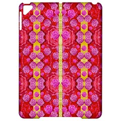 Roses And Butterflies On Ribbons As A Gift Of Love Apple Ipad Pro 9 7   Hardshell Case