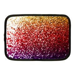 Rainbow Glitter Graphic Netbook Case (medium)