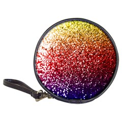 Rainbow Glitter Graphic Classic 20 Cd Wallets