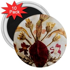 Holy Land Flowers 3 3  Magnets (10 Pack)  by DeneWestUK