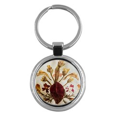 Holy Land Flowers 3 Key Chains (round)  by DeneWestUK