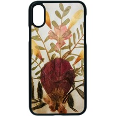 Holy Land Flowers 5 Apple Iphone X Seamless Case (black)