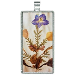 Holy Land Flowers 11 Rectangle Necklace