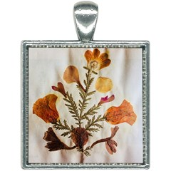 Holy Land Flowers 13 Square Necklace
