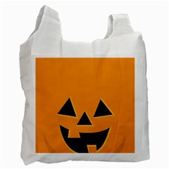 Pumpkin Recycle Bag (two Side) by PhotoThisxyz