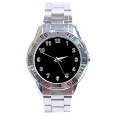Define Black Stainless Steel Analogue Watch