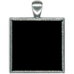 Define Black Square Necklace