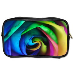 Rainbow Rose 17 Toiletries Bag (two Sides)