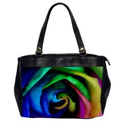 Rainbow Rose 17 Oversize Office Handbag