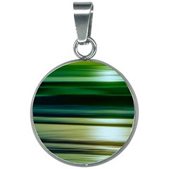 Greenocean 20mm Round Necklace by kunstklamotte023