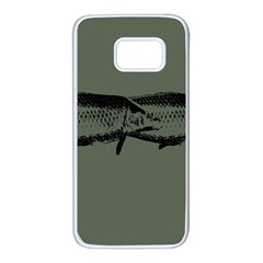 Carp Fish Samsung Galaxy S7 White Seamless Case by kunstklamotte023