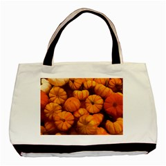 Pumpkins Tiny Gourds Pile Basic Tote Bag (two Sides)