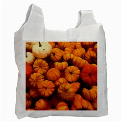 Pumpkins Tiny Gourds Pile Recycle Bag (two Side)