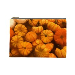 Pumpkins Tiny Gourds Pile Cosmetic Bag (large)