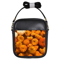 Pumpkins Tiny Gourds Pile Girls Sling Bag