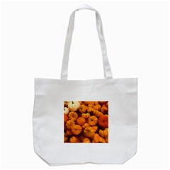 Pumpkins Tiny Gourds Pile Tote Bag (white)