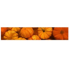 Pumpkins Tiny Gourds Pile Large Flano Scarf