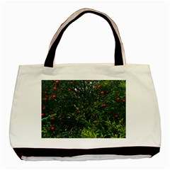 Apple Tree Close Up Basic Tote Bag