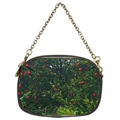 Apple Tree Close Up Chain Purse (one Side)