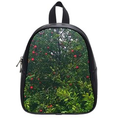 Apple Tree Close Up School Bag (small)