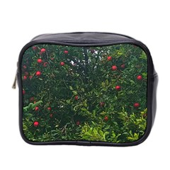 Apple Tree Close Up Mini Toiletries Bag (two Sides)