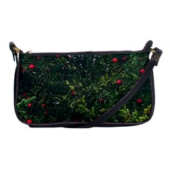 Apple Tree Close Up Shoulder Clutch Bag