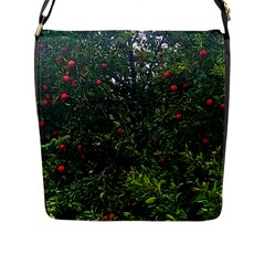 Apple Tree Close Up Flap Closure Messenger Bag (l)