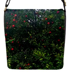 Apple Tree Close Up Flap Closure Messenger Bag (s)