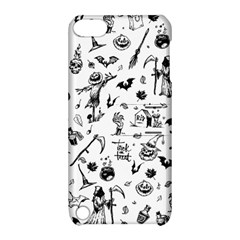 Halloween Pattern Apple Ipod Touch 5 Hardshell Case With Stand by Valentinaart