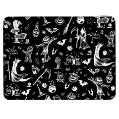 Halloween Pattern Samsung Galaxy Tab 7  P1000 Flip Case by Valentinaart