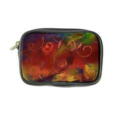 Abstract Fall Swirls Coin Purse