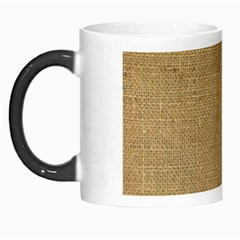 Burlap Coffee Sack Grunge Knit Look Morph Mugs by dressshop