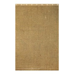 Burlap Coffee Sack Grunge Knit Look Shower Curtain 48  X 72  (small)  by dressshop