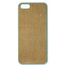 Burlap Coffee Sack Grunge Knit Look Apple Seamless Iphone 5 Case (color) by dressshop