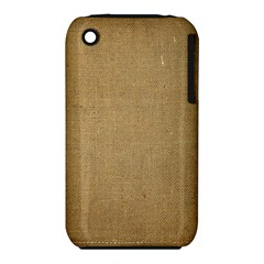 Burlap Coffee Sack Grunge Knit Look Iphone 3s/3gs by dressshop