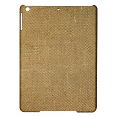 Burlap Coffee Sack Grunge Knit Look Ipad Air Hardshell Cases by dressshop