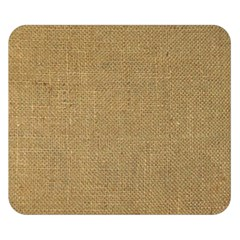 Burlap Coffee Sack Grunge Knit Look Double Sided Flano Blanket (small)  by dressshop