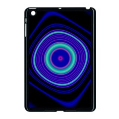 Digital Art Background Pink Blue Apple Ipad Mini Case (black) by Sapixe