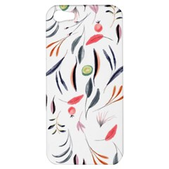 Watercolor Tablecloth Fabric Design Apple Iphone 5 Hardshell Case