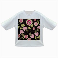 Flowers Wallpaper Floral Decoration Infant/toddler T Shirts