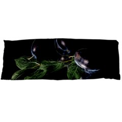 Plums Photo Art Fractalius Fruit Body Pillow Case (dakimakura) by Sapixe