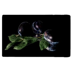 Plums Photo Art Fractalius Fruit Apple Ipad Pro 12 9   Flip Case by Sapixe