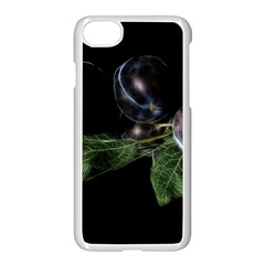 Plums Photo Art Fractalius Fruit Apple Iphone 7 Seamless Case (white) by Sapixe