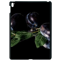 Plums Photo Art Fractalius Fruit Apple Ipad Pro 9 7   Black Seamless Case by Sapixe