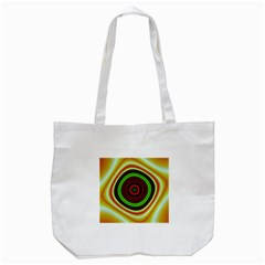 Digital Art Background Yellow Red Tote Bag (white) by Sapixe