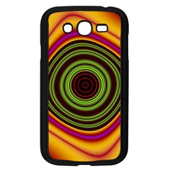 Digital Art Background Yellow Red Samsung Galaxy Grand Duos I9082 Case (black) by Sapixe