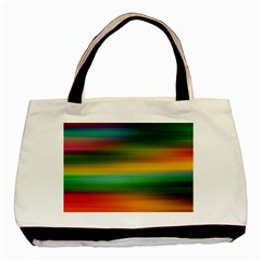 Art Blur Wallpaper Artistically Basic Tote Bag (two Sides) by Sapixe