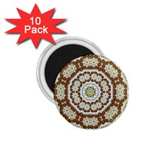 Pretty As A Flower Everywhere You Can See 1 75  Magnets (10 Pack)  by pepitasart