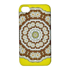 Pretty As A Flower Everywhere You Can See Apple Iphone 4/4s Hardshell Case With Stand by pepitasart